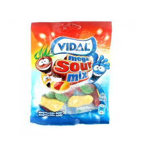 Mega surtido ácido Vidal 100g vending